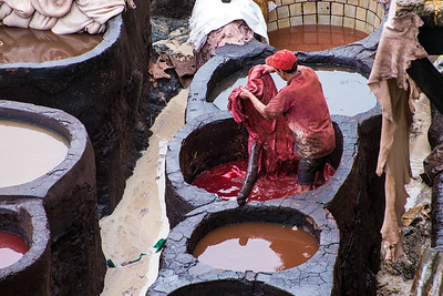 A Tannery Of Fes (II)
