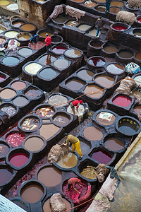 A Tannery In Fes (I)