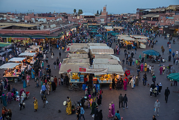 An Evening In Marrakech