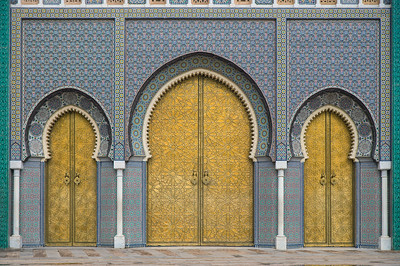 The Doors To A Palace