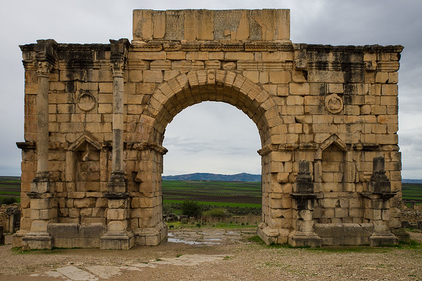 The Triumphal Arch Of Volubilis