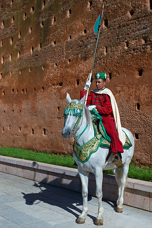 On Guard In Rabat