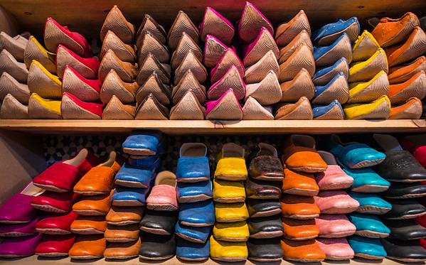 Slippers For Sale In The Souk