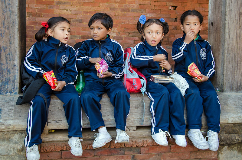Lunch time in Bhaktapur