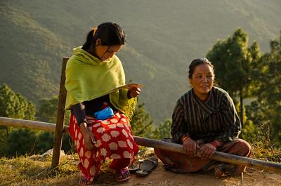 A Mountain Village In Nepal (IX)