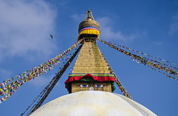 A Stupa of Kathmandu