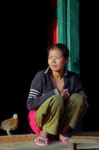 A Mountain Village In Nepal (VII)