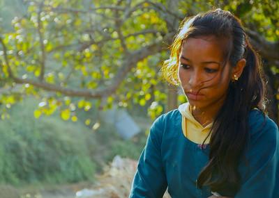A Mountain Village In Nepal (VIII)