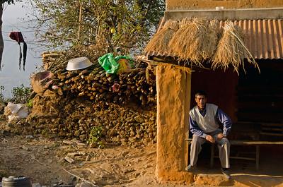 A Mountain Village In Nepal (III)