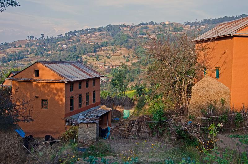 A Mountain Village In Nepal (II)