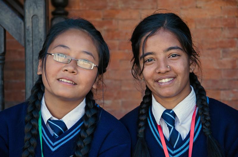 Smiles In Bhaktapur
