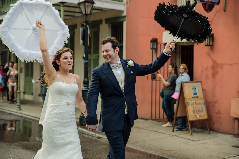 Weddings, New Orleans Style (I)