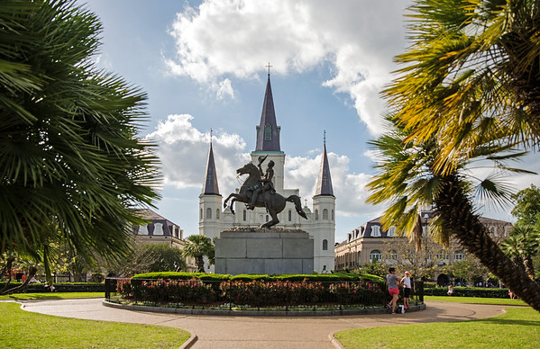 Jackson Square By Day