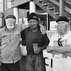 Real Deal Fishmen on the wharf in Astoria, Oregon