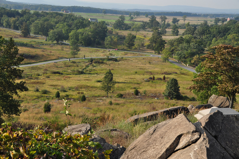 170 Gettysburg - view from Litte Roundtop