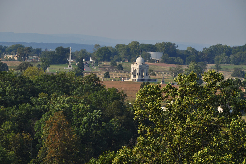 169    Gettysburg - view from Litte Roundtop