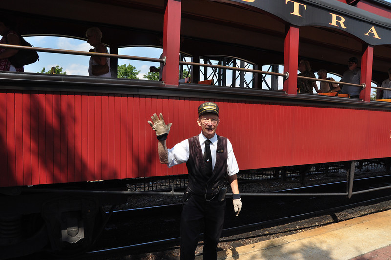 113 Strasburg Train Museum - all Aboard