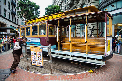 San Francisco's Cable Cars (I)
