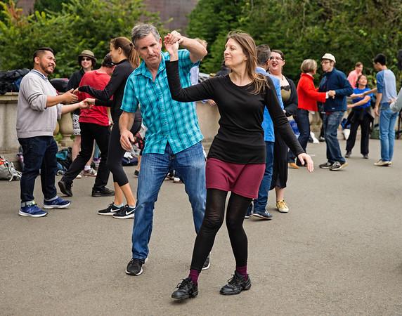 Dancing In Golden Gate Park