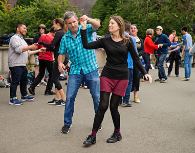 Dancing In Golden Gate Park