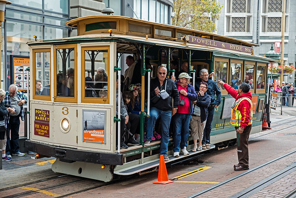 San Francisco's Cable Cars (III)