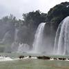 Ban Gioc Falls  on the china border, Cao Bang