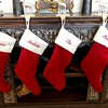 The stockings were hung  . . .