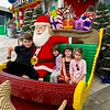 We accompanied the children to their --and our--first visit to Legoland on the outskirts of Dubai, an hour's drive away.