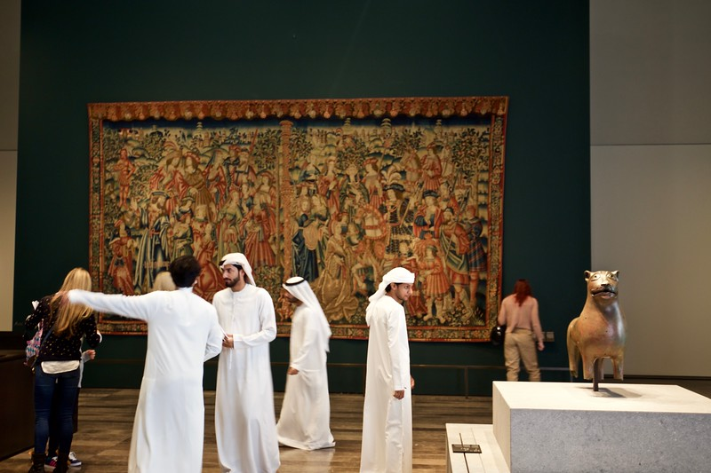 The  tapestry of Daniel and Nebuchadnezzar from the 16th Century.