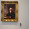 An 1822 painting of George Washington by Gilbert Stuart, part of the Louvre Abu Dhabi's permanent collection.