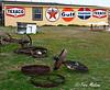 Americana, Oil Companies, Signs, Texaco, Gulf, Standard
