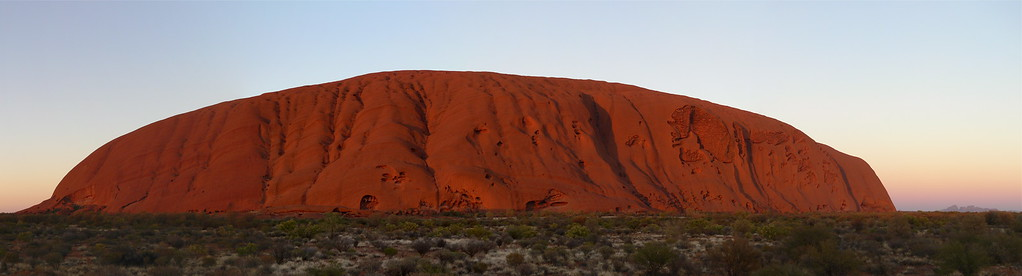 Uluru and Olgas Sunrise