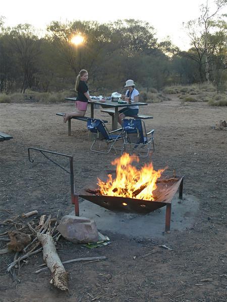 Redbank Gorge camping
