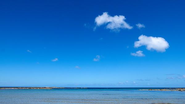 Blanket Bay blue