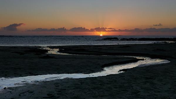 Blanket Bay sunrise