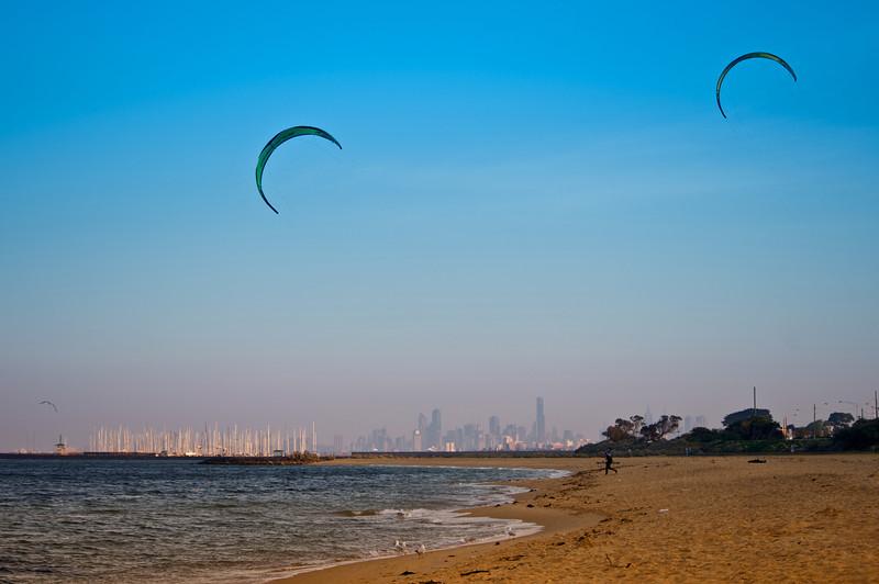 Kites away