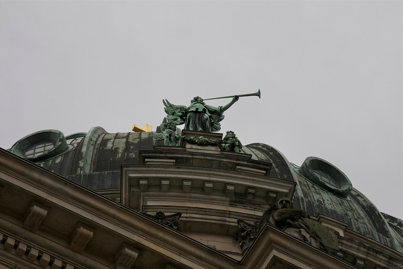 trumpeting, Berlin Cathedral