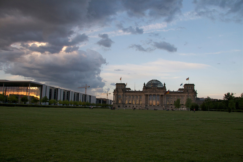 Reichstag/Bundestag, seat of the German federal government