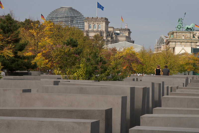 Holocaust Memorial, Reichstag, Brandenburg Gate
