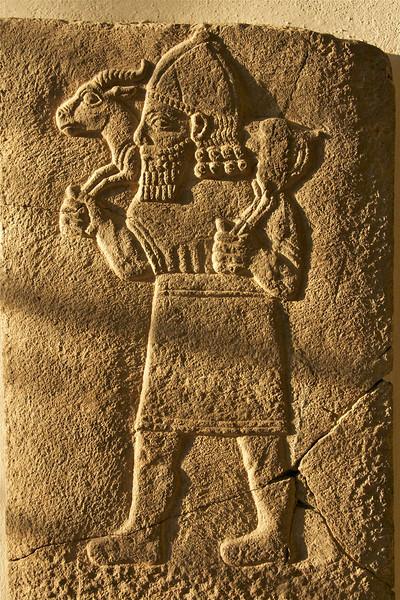 carrying a gazelle 800 BC, Pergamon Museum