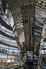 mirrors on the dome over the Reichstag