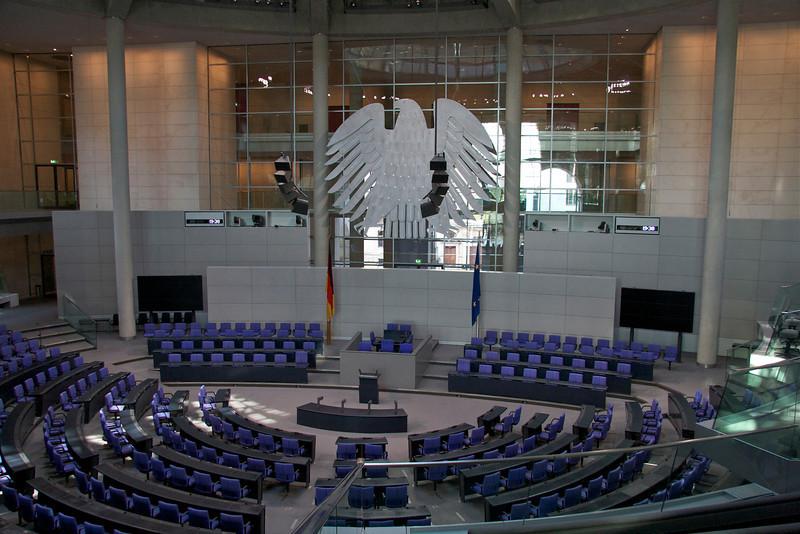 Bundestag chambers