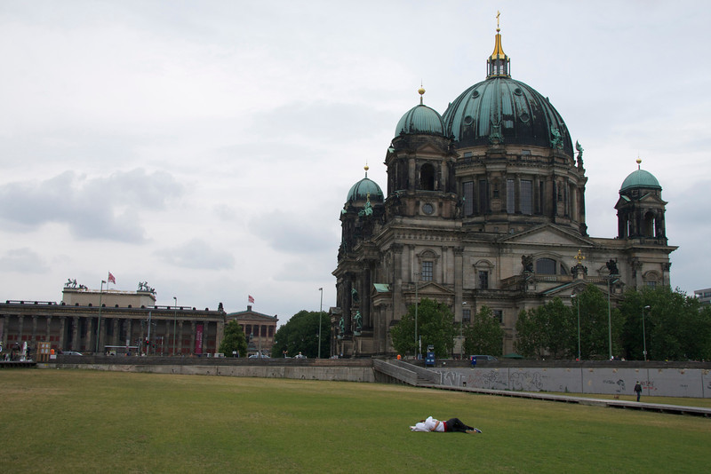Altes Museum, Berlin Cathedral, Castle grounds
