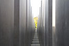 through the stelae, Holocaust Memorial