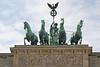 Brandenburger Tor Quadriga<br /> Brandenburg Gate, chariot