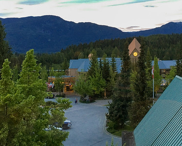 View from Room 539 at Fairmont Chateau Whistler