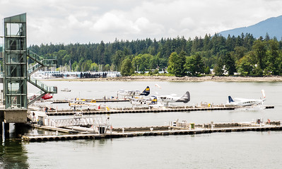 Vancouver Harbour Flight Centre Seaplane Terminal - Seawall Water Walk