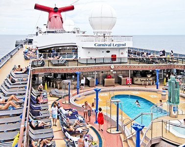 Carnival Legend Day at Sea