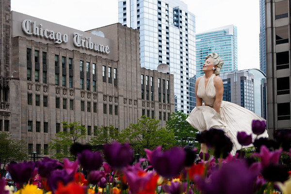 Marilyn Monroe statue, Chicago