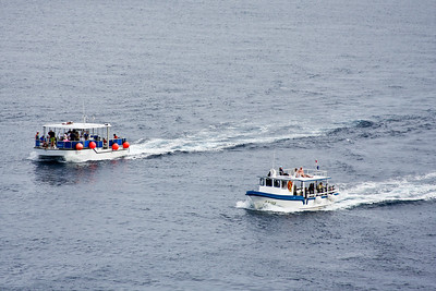 Ferry services shuttle tourists to Play del Carmen on Mainland Mexico.